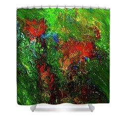 Dance Of The Dragon Shower Curtain