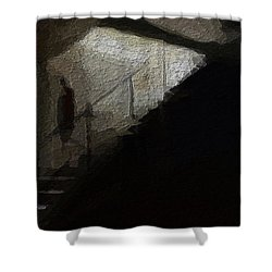 Darkness Welcomes You Shower Curtain