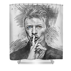 David Bowie. Shower Curtain