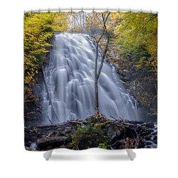 Dawn At Crabtree Falls Shower Curtain