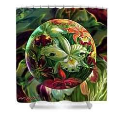 Day Lily Dreams Shower Curtain