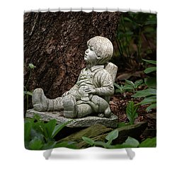 Shower Curtain featuring the photograph Daydreaming by Dale Kincaid
