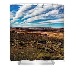 Dead Mans Walk Shower Curtain
