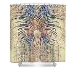 Deco Wood Shower Curtain