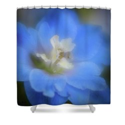 Delphinuim Joy Shower Curtain