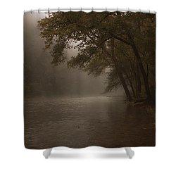 Depth Of Solitude  Shower Curtain