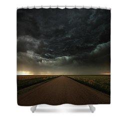 Desolation Road Shower Curtain