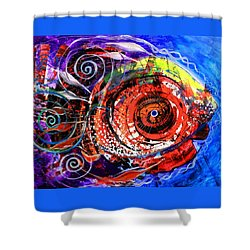 Diabla Grande Shower Curtain