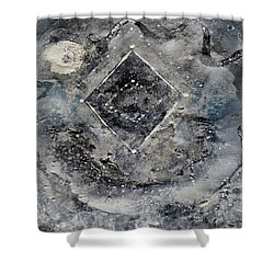 Diamond Apparition  Shower Curtain
