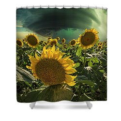 Shower Curtain featuring the photograph Disarray  by Aaron J Groen