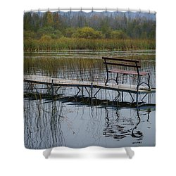 Dock By The Bay Shower Curtain