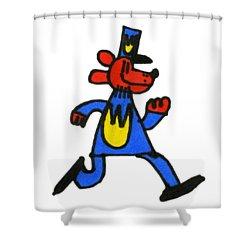 Dogman Shower Curtain