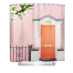 Door To Pastel Heaven Shower Curtain