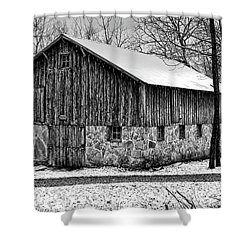 Down The Old Dirt Road Shower Curtain