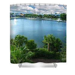 Downtown At The Gardens Mall Palm Beach Florida C2 Shower Curtain