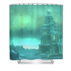 Dragonblight Shower Curtain