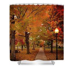 Drury Autumn Shower Curtain