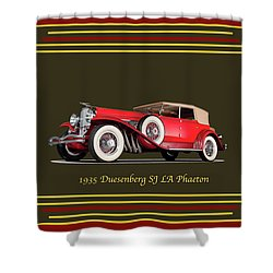 Duesenberg 1935 Shower Curtain