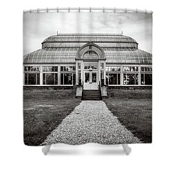 Duke Farms Conservatory Shower Curtain