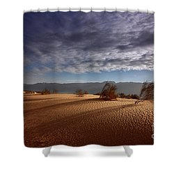 Dune In Motion Shower Curtain