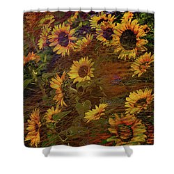 Ecoattack Shower Curtain