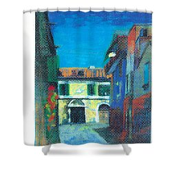 Edifici Shower Curtain