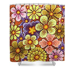 Efflorescent 6 Shower Curtain