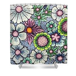 Efflorescent 8 Shower Curtain