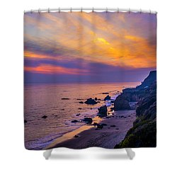 El Matador Sunset Shower Curtain
