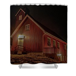 Elgsnes Chapel Shower Curtain