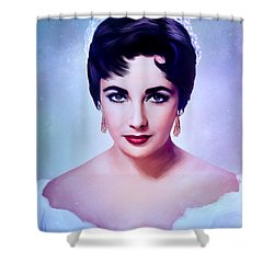 Elizabeth 3 Shower Curtain