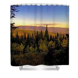 Elk Bluff  Shower Curtain