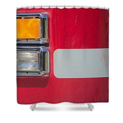 Emergency Vehicle #2 Shower Curtain