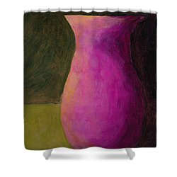 Empty Vases - Green Shower Curtain