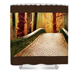 Shower Curtain featuring the photograph Enchanted Autumn by Jessica Jenney