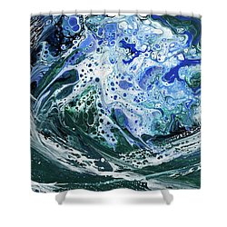 Enchanted Wave Shower Curtain