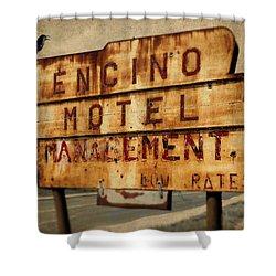 Encino Hotel Shower Curtain