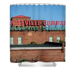 Enterprise Mill - Graniteville Company - Augusta Ga 1 Shower Curtain