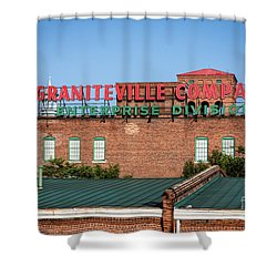 Enterprise Mill - Graniteville Company - Augusta Ga 2 Shower Curtain
