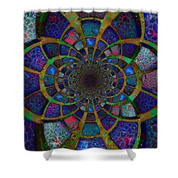 Estuarial Shower Curtain
