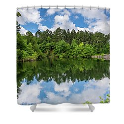 Euchee Creek Park - Grovetown Trails Near Augusta Ga 1 Shower Curtain