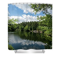 Euchee Creek Park - Grovetown Trails Near Augusta Ga 2 Shower Curtain