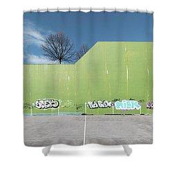 Euro New Topographics 26 Shower Curtain