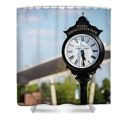Evans Towne Center Park Clock - Evans Ga Shower Curtain