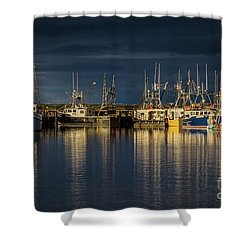 Evening Reflections Shower Curtain