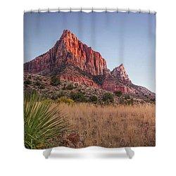 Evening Vista At Zion Shower Curtain