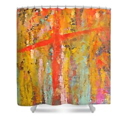 Every Hour I Need Thee Shower Curtain