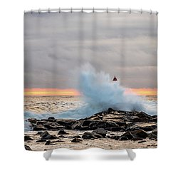 Explosive Sea 2 Shower Curtain