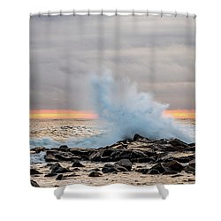 Explosive Sea 3 Shower Curtain
