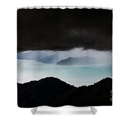 Eye Of The Monster  Shower Curtain